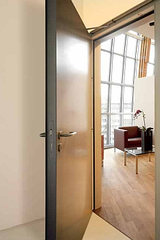 Metal interior doors